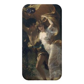 Stormen - Pierre-Auguste kåta iPhone 4 Skydd