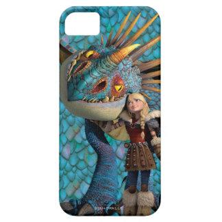 Stormfly och Astrid mönster iPhone 5 Fodral