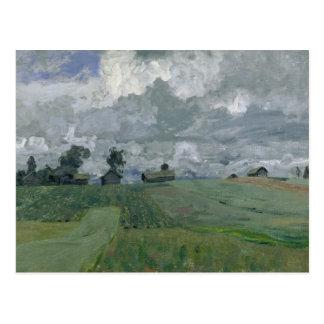 Stormig dag 1897 vykort
