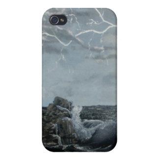 Stormiga hav iPhone 4 fodral