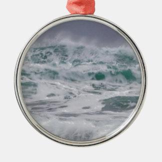 """""""Stormiga hav """", Julgransprydnad Metall"""