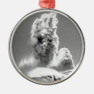 Stormiga hav på Roker Julgransprydnad Metall