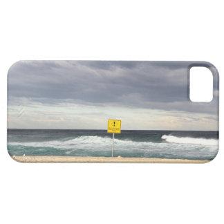 Stormiga himmlar över den Bronte stranden iPhone 5 Hud