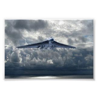 Stormiga Vulcan Fototryck