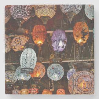 Storslagen Bazar i Istanbul, Turkiet Underlägg Sten