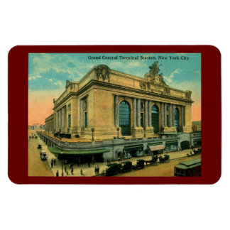 Storslagen central, New York City vintage Magnet