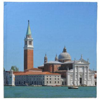 Storslagen kanal, Venedig, italien Tygservett