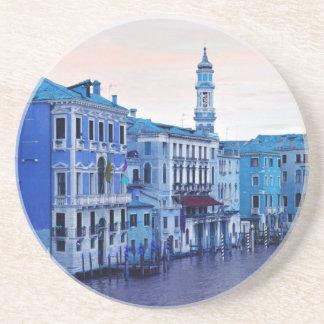 Storslagen kanal, Venedig, italien Underlägg Sandsten