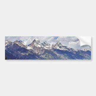 Storslagen Teton medborgarePark. Bildekal