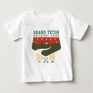 Storslagen Teton nationalpark Wyoming T Shirt