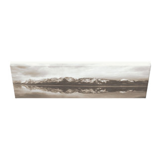 Storslagen Tetons Jackson sjö Canvastryck