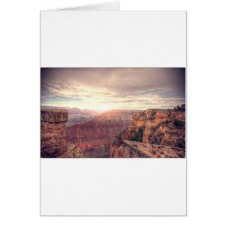 Storslaget grand Canyon Hälsningskort
