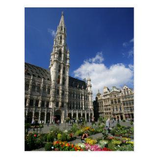 storslaget ställe, brussels Belgien Vykort