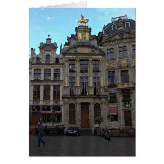 Storslaget ställe, Bryssel Hälsningskort