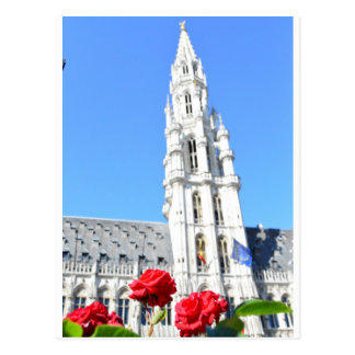 Storslaget ställe för La, Bryssel Vykort