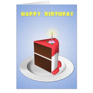 Störst skivafödelsedagkort hälsningskort