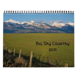 Stort himmelland 2011 kalender