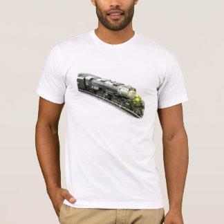 Stort modellera ångatåg t-shirt
