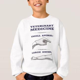 Stort och litet djurt veterinär- humoristiskt t shirts