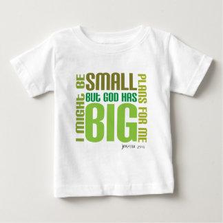 Stort planerar den kristna bebist-skjortan t-shirt