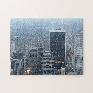 Stort pussel för New York City horisont