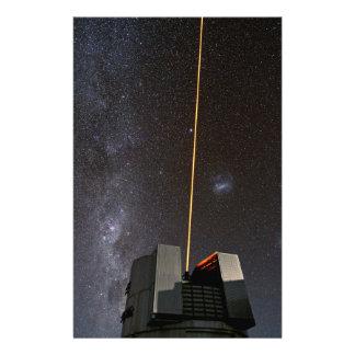 Stort teleskop VLT 14 Februari 2013 för ESO mycket Brevpapper