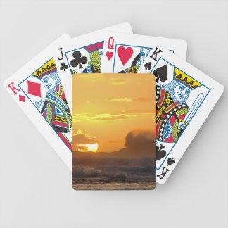 Stort vinkar - den Ke'e stranden - Kauai Hawaii Spelkort