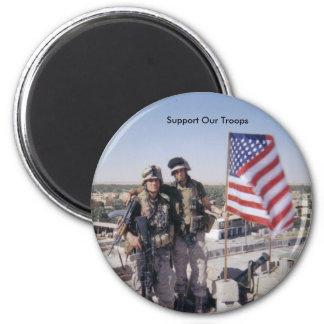 stötta våra soldater, 9-11-05 magnet