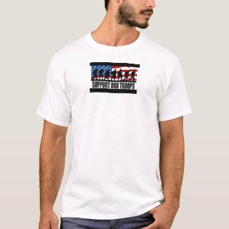 Stötta våra soldater t-shirt