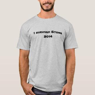 Stowe 2014 t-shirt