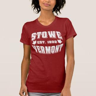Stowe gammal stilvit t-shirt