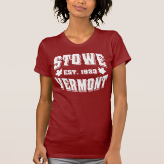 Stowe gammal stilvit t-shirts