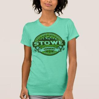 Stowe logotypgrönt t shirts