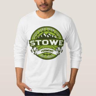 Stowe logotypgrönt tee shirt
