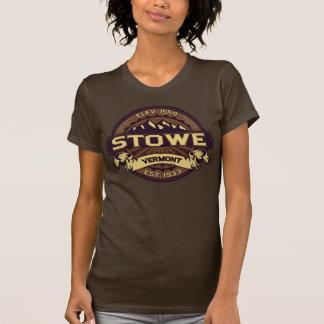 Stowe logotypSepia T-shirt