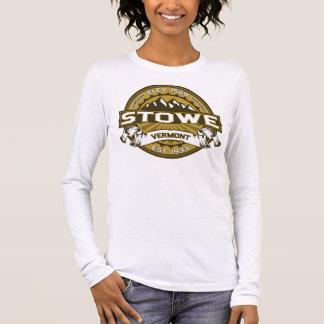 Stowe logotypsolbränna t-shirt