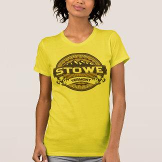 Stowe logotypsolbränna tshirts