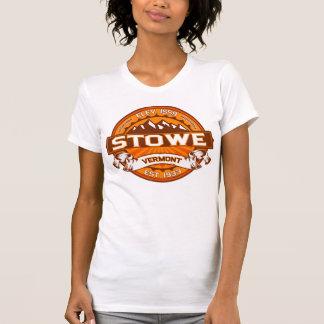 Stowe logotypTangerine T-shirt
