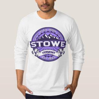 Stowe logotypViolet Tee Shirt