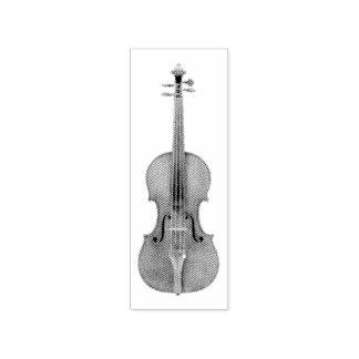 Stradivarius fiol etsad Lookreproduktion Stämpel