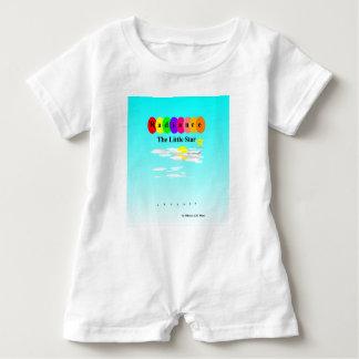 Strålglans lite stjärnababyromperen t-shirt