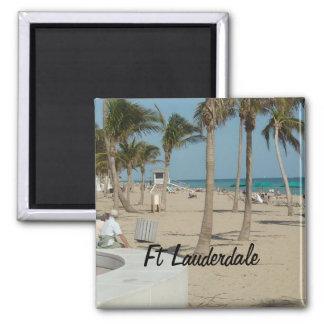Strand för Ft Lauderdale Magnet