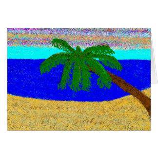 strand hälsningskort
