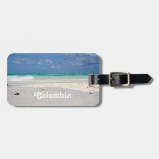 Strand i Columbia Bagage Etiketter
