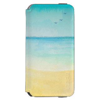 Strand- och fågelvattenfärg