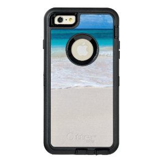 Strand och hav för vit tropisk OtterBox defender iPhone skal