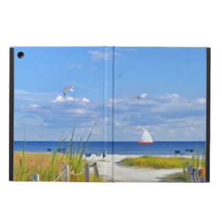 Strand, sjösida och fåglar fodral för iPad air