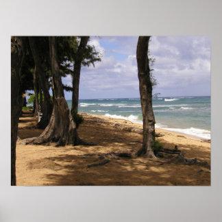 Strand Wailua, Kauai Poster