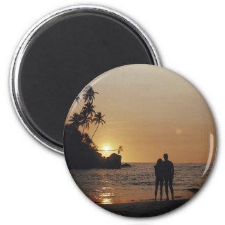Strandbröllopinbjudan Magnet