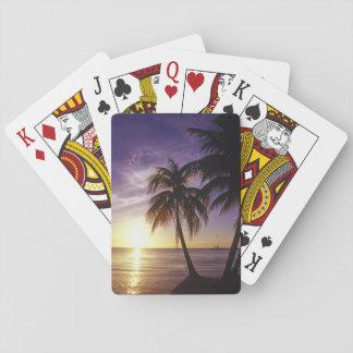 Stränder på Negril, Jamaica 3 Spel Kort